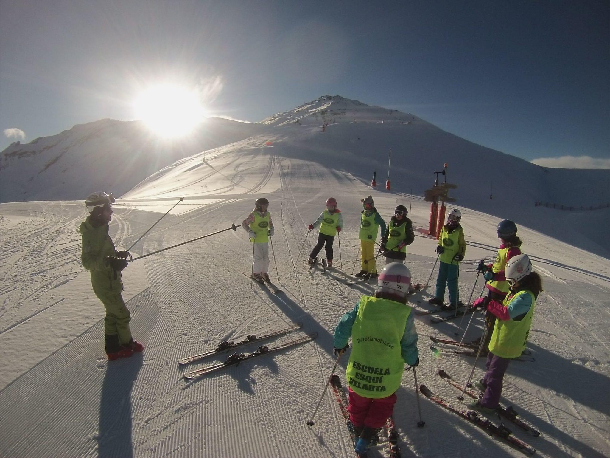 Viajes esquí para colegios 7